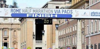Rome Half Marathon Via Pacis
