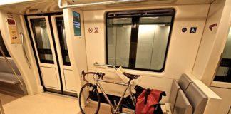 Bici sulla Metro C
