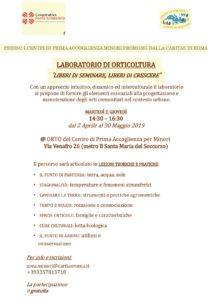 orticoltura: il programma del corso - utsroma.it